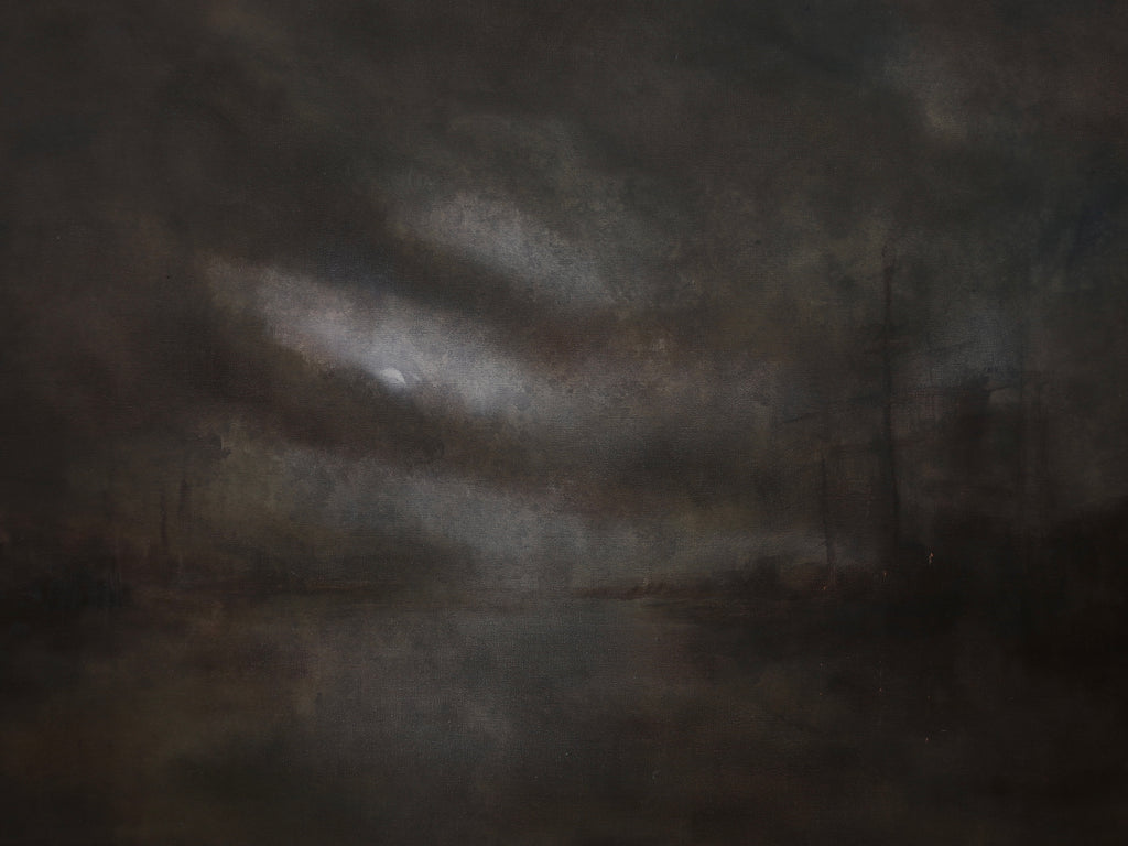 The Departure of What Once Was, 30x40 inches
