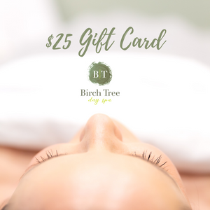 Birch Tree Day Spa Gift Card