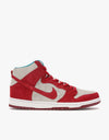 Nike SB Dunk High Pro Skate Shoes - Gym Red/Gym Red/White