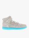 Nike SB Dunk High Premium Skate Shoes - White/White/Polorized Blue