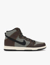 Nike SB Dunk High Pro Skate Shoes - Baroque Brown/Black-Jade Horizon