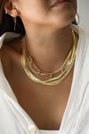 Herringbone Thin Necklace