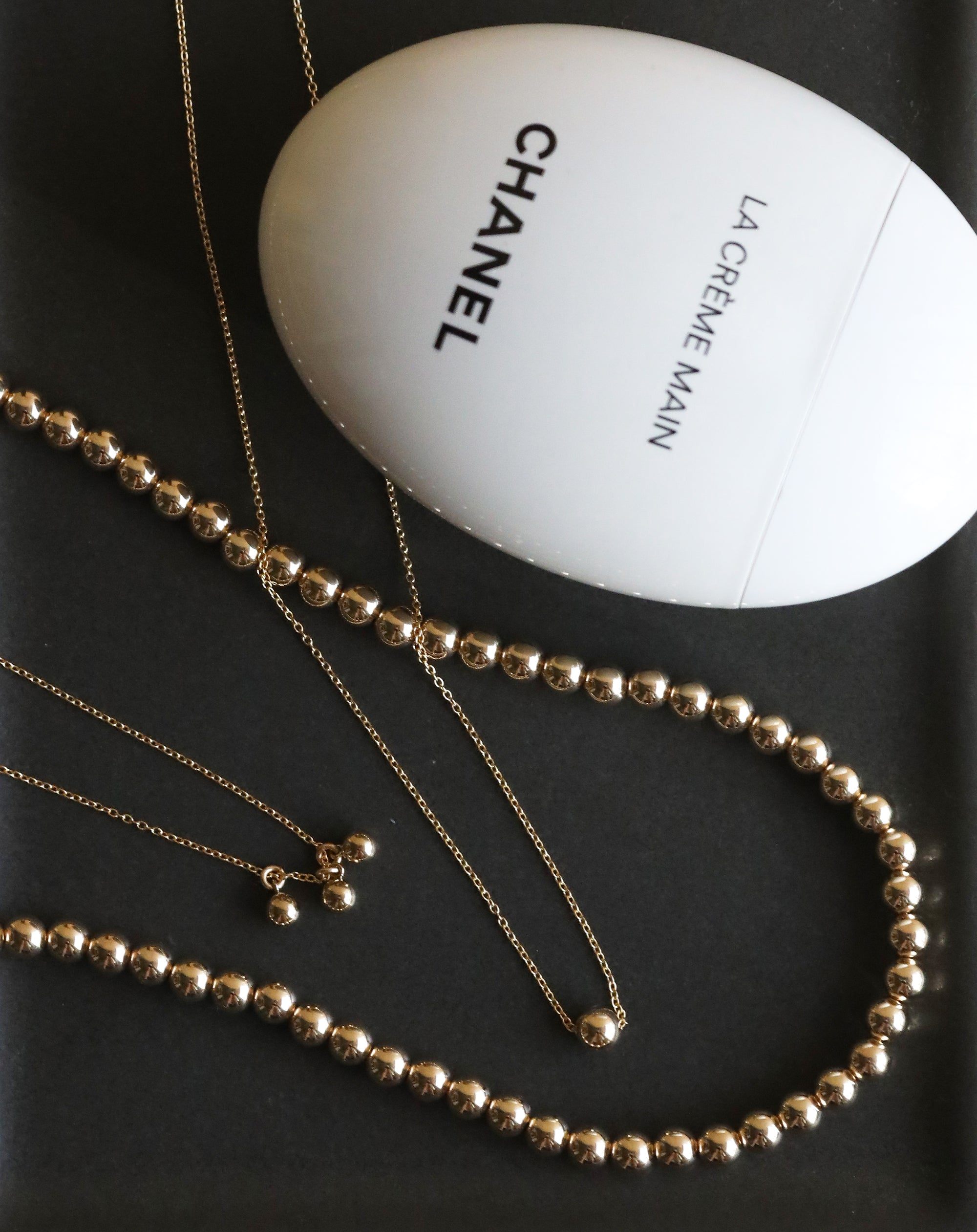Dainty 3 Baller Necklace