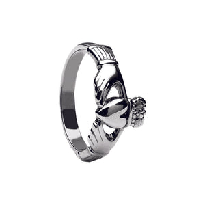 Maids Style Claddagh Ring