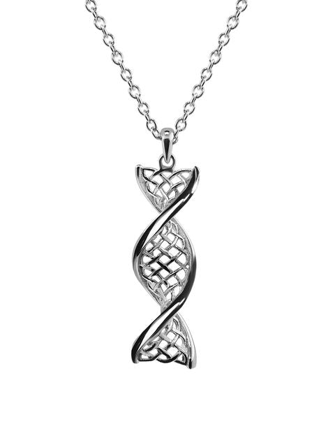Sterling Silver Celtic DNA Pendant