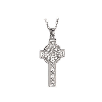Heavy Sterling Silver Celtic Cross
