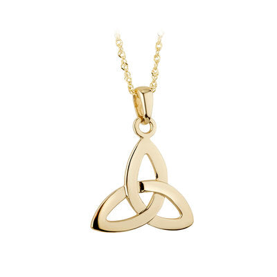 10ct Yellow Gold Celtic Trinity Knot Pendant