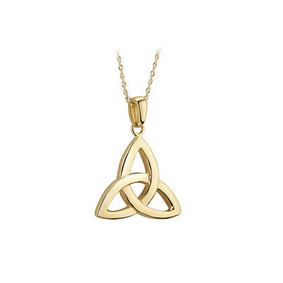 14ct Yellow Gold Celtic Trinity Knot Pendant