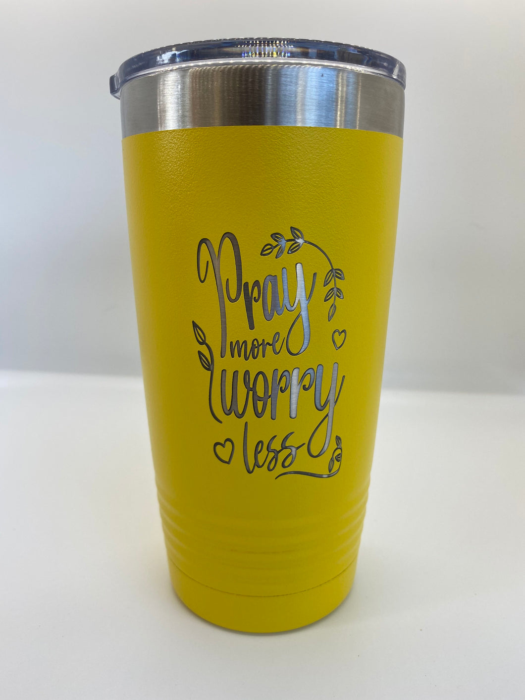 20oz Laser Engraved Christian Quote Tumbler