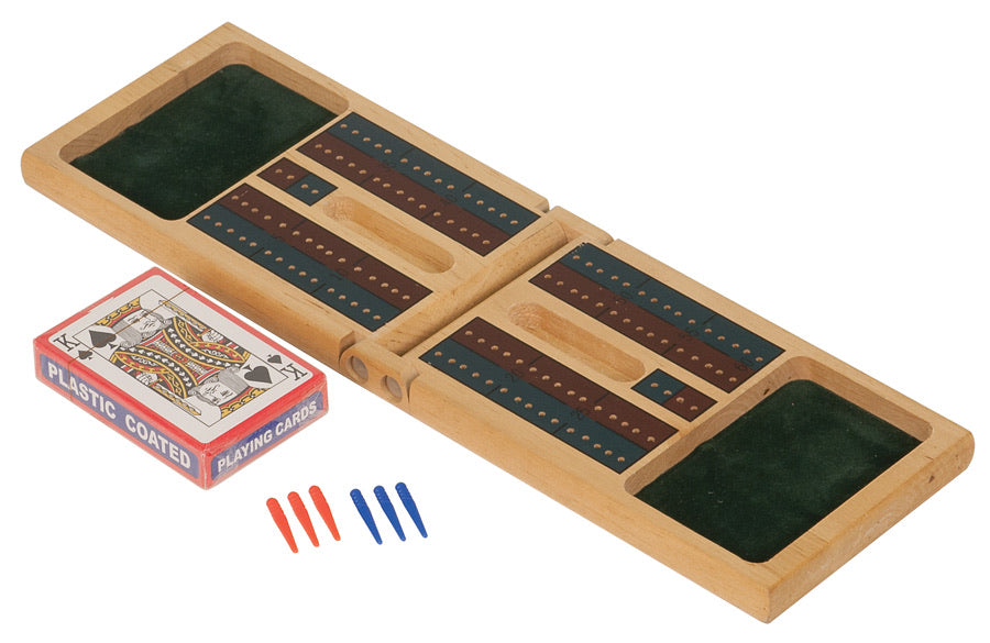 Personalized Wood Cribbage Game