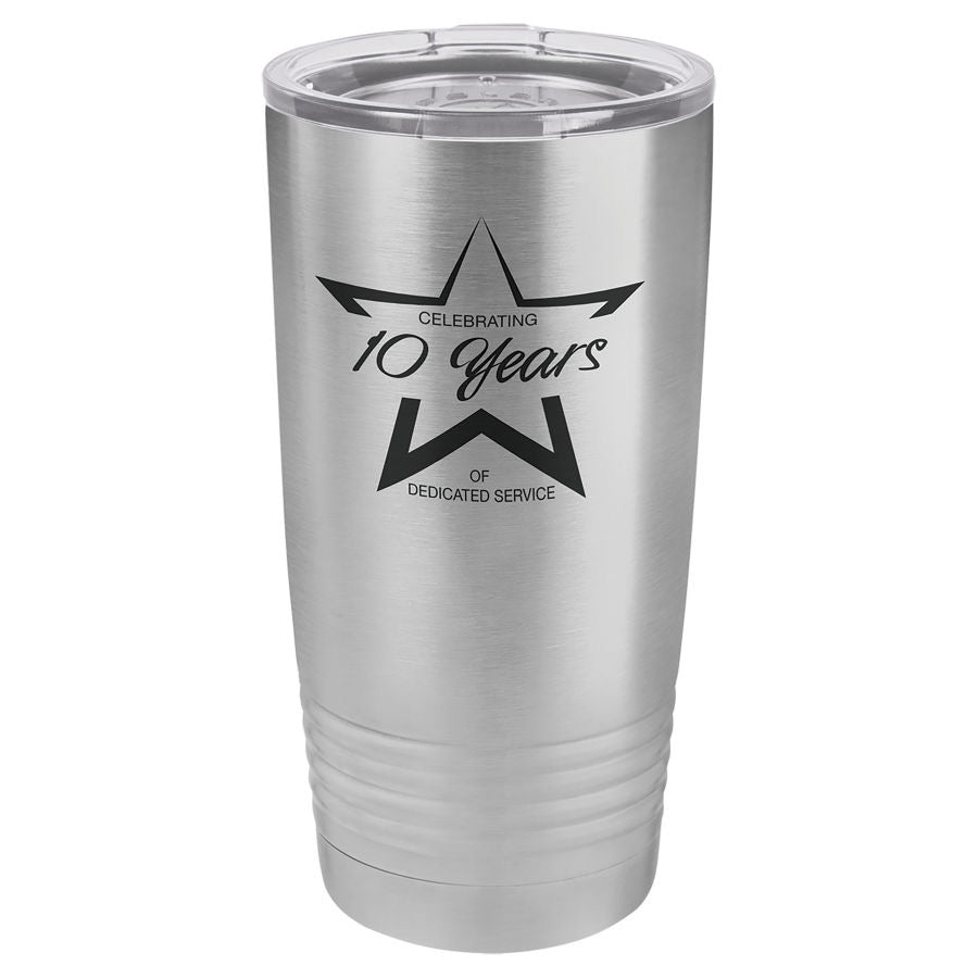 Laser Engraved 20oz Tumbler