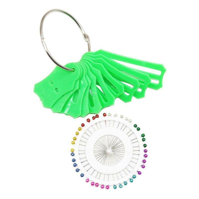Green 10Pcs Jelly Roll Sasher Tool Set Multi-Sizes Sasher for Folding Fabric and Biasing Strips Come with 40Pcs Multi-Color Quilting Pins 20Pcs Sewing Clips and 1Pcs Storage Chain