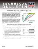 Torque-to-Yield Cylinder Head Bolts