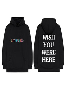Travis Scotts ASTROWORLD Hoodies Embroidered