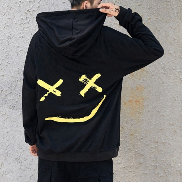 Happy Smiling Face Hoodies
