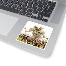 Load image into Gallery viewer, BEAM ME UP Square Stickers
