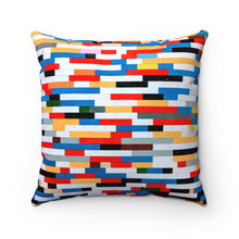 Load image into Gallery viewer, BRICKS Faux Suede Pillow