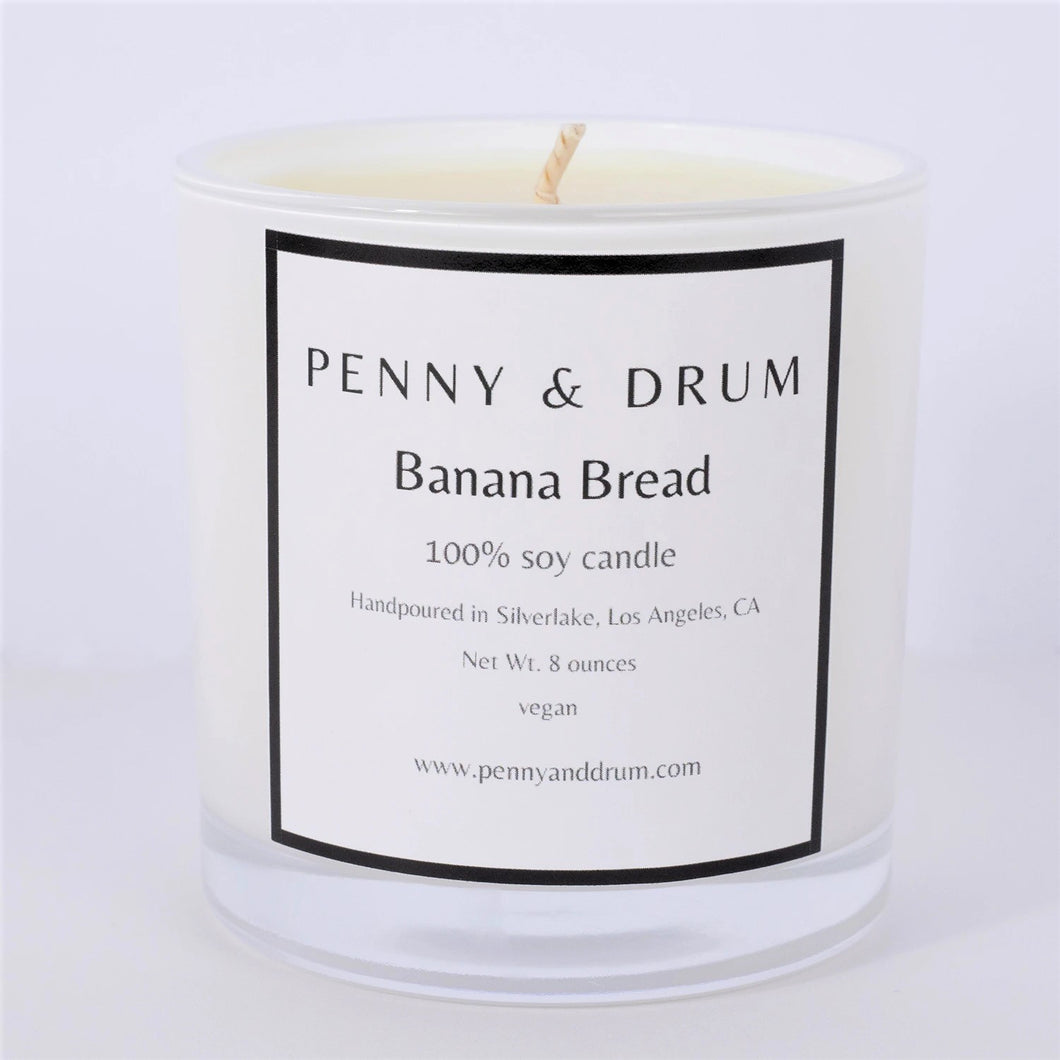 PENNY & DRUM - Banana Bread Candle