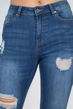 Load image into Gallery viewer, VINCENT Five Pocket Capri Denim Jeans