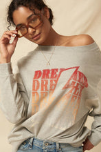 Load image into Gallery viewer, DREAMER French Terry Knit Graphic Sweatshirt