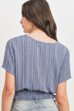 Load image into Gallery viewer, ELLA Woven Printed Crinkle Top