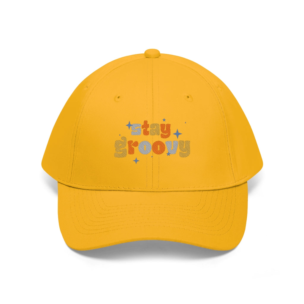 STAY GROOVY Twill Hat