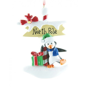 Petey at the North Pole