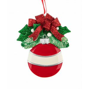 Red Round Ornament