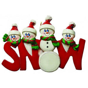 Snow Word Family 4