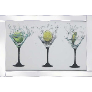 Triple Cocktail Glasses