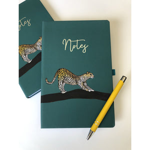 Luanna Leopard Notebook