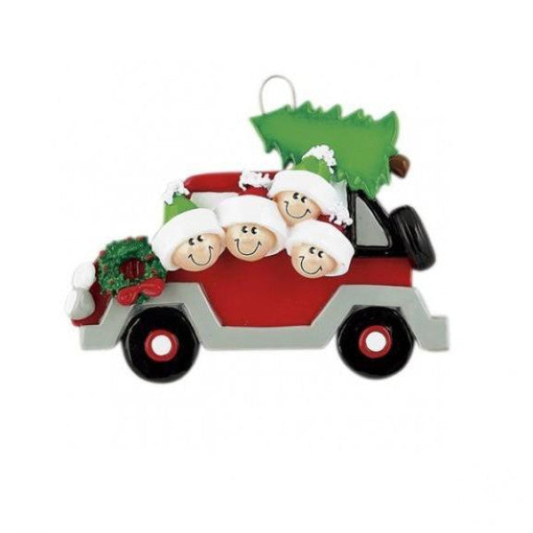 Christmas Tree Car 4
