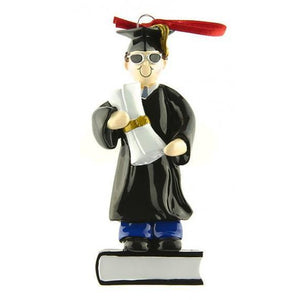 Graduation Keep Sake Decoration - Boy