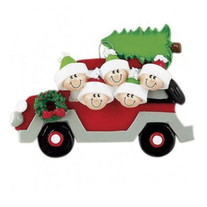 Christmas Tree Car 5