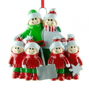 Snow Shovel Family 6