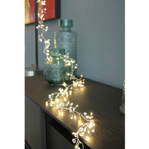 Crystal Cluster battery operated light chain