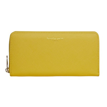Yellow Vegan Leather Purse