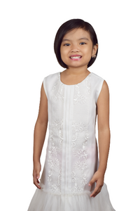 Girls Filipiñana Dress