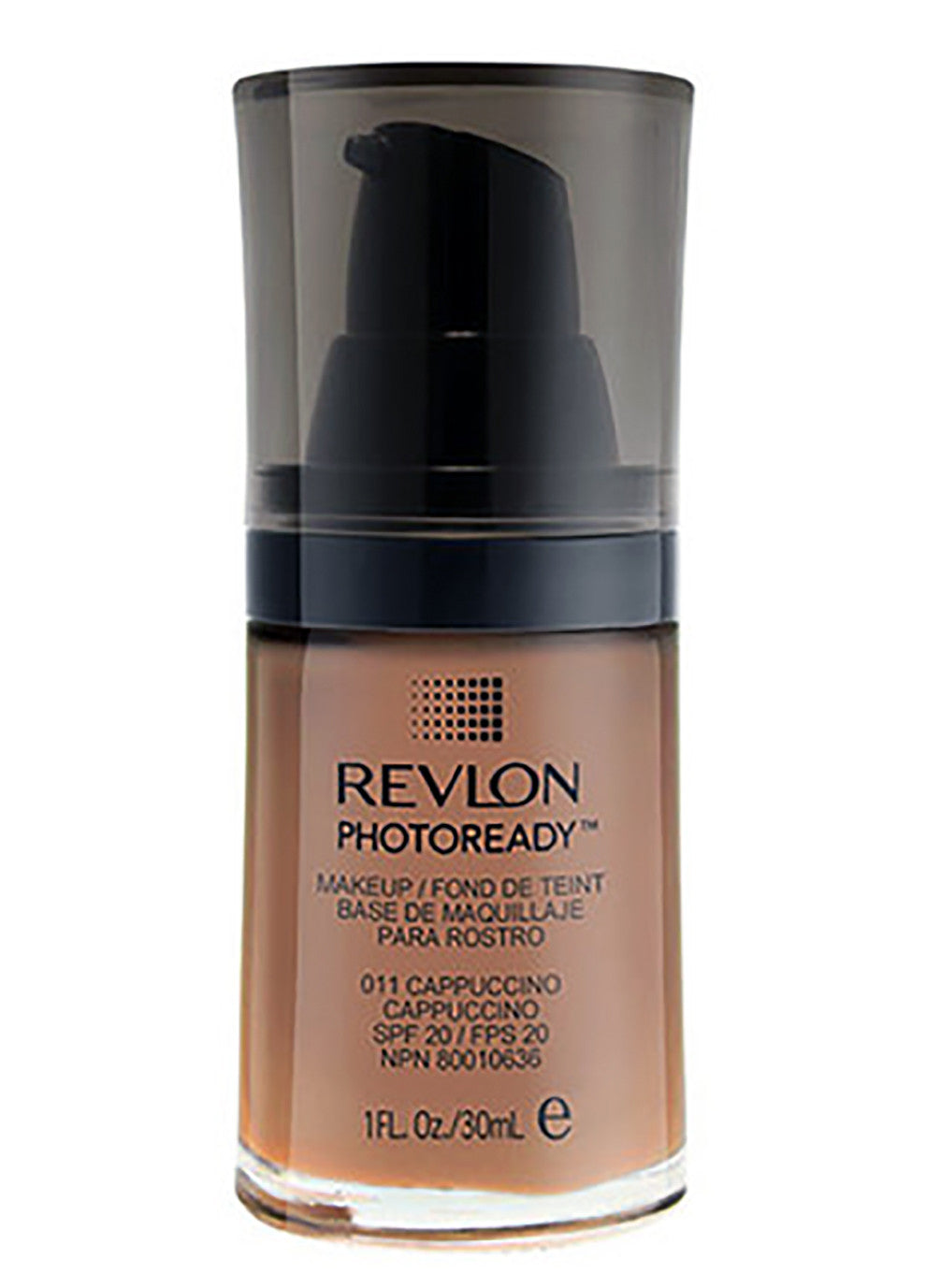 REVLON PHOTOREADY Makeup #011 CAPPUCCINO Liquid Foundation SPF 20