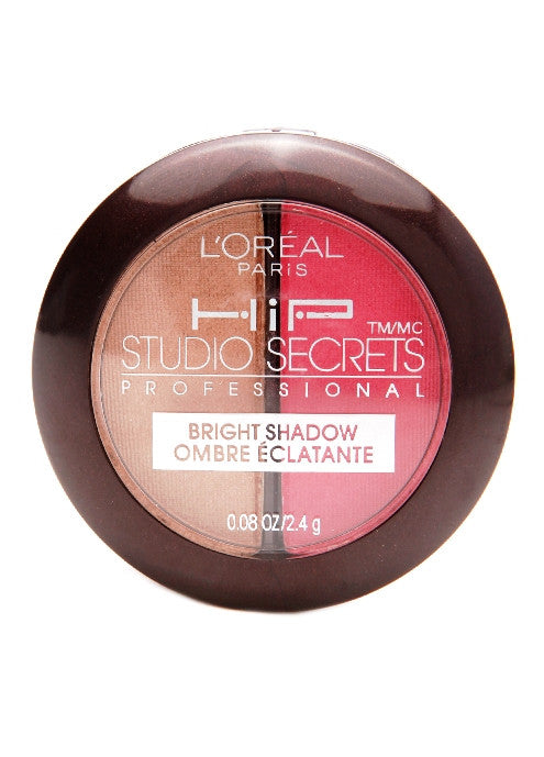 L'Oreal HiP Studio Secrets™ Professional Bright Shadow Duos #114 Adventurous