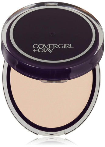 CoverGirl & Olay Smooth-Guide Serum Pressed Powder #320 Fair/Light