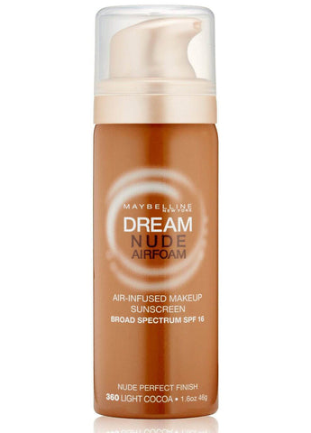 Maybelline Dream Nude Airfoam SPF 16 Foundation # 360 Light Cocoal