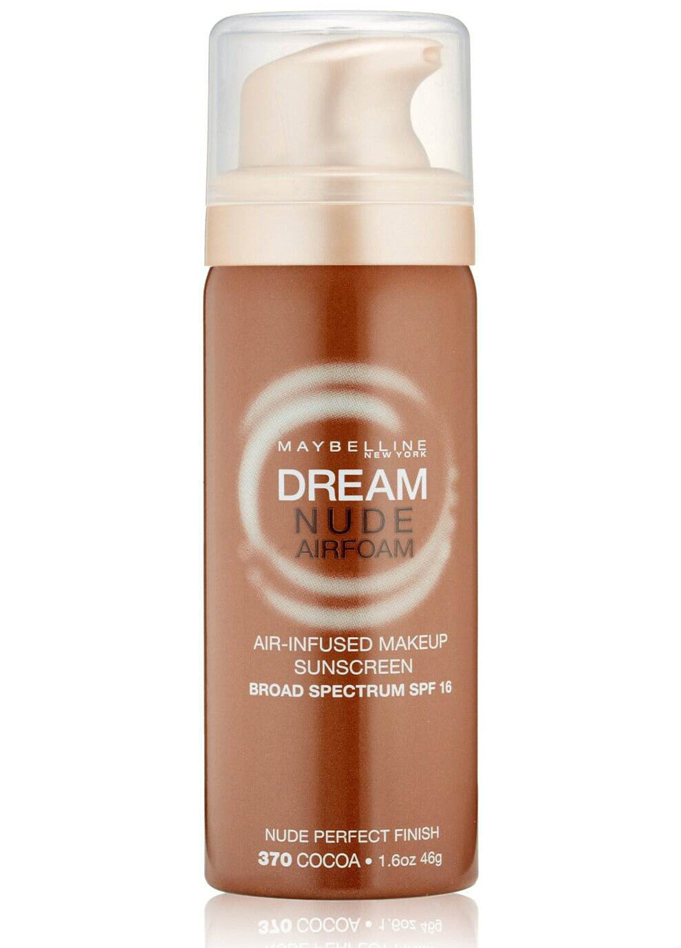 Maybelline Dream Nude Airfoam SPF 16 Foundation# 370 Cocoa