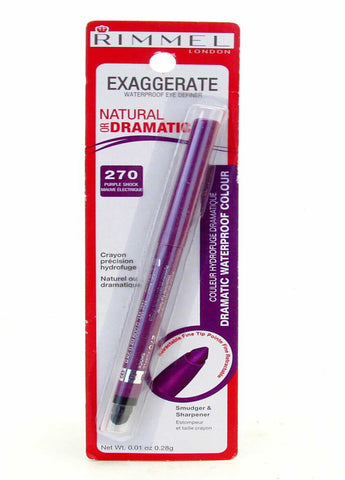 Rimmel London  Exaggerate Waterproof Eye Definer #270 Purple Shock