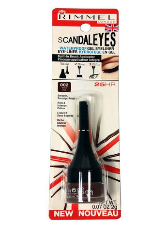 Rimmel Scandaleyes Waterproof Gel Eyeliner #002 Brown