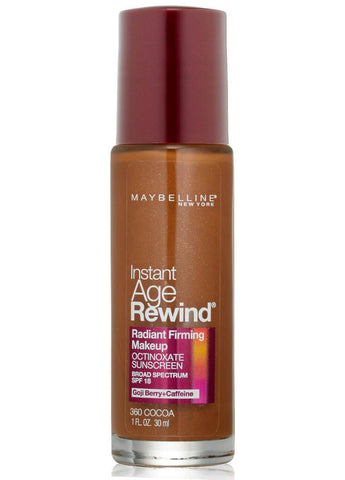Maybelline New York Instant Age Rewind Radiant Firming SPF 18 Makeup #360 Cocoa