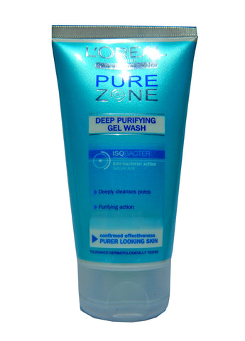 L'Oreal Dermo Expertise Pure Zone Deep Purifying Gel Wash 150 ml