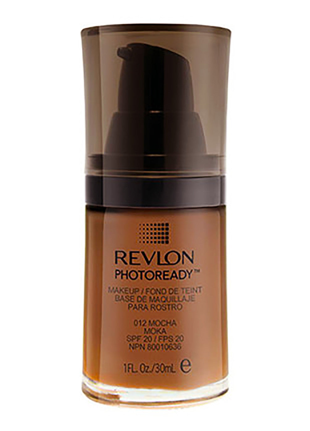 REVLON PHOTOREADY Makeup #012 MOCHA Liquid Foundation SPF 20