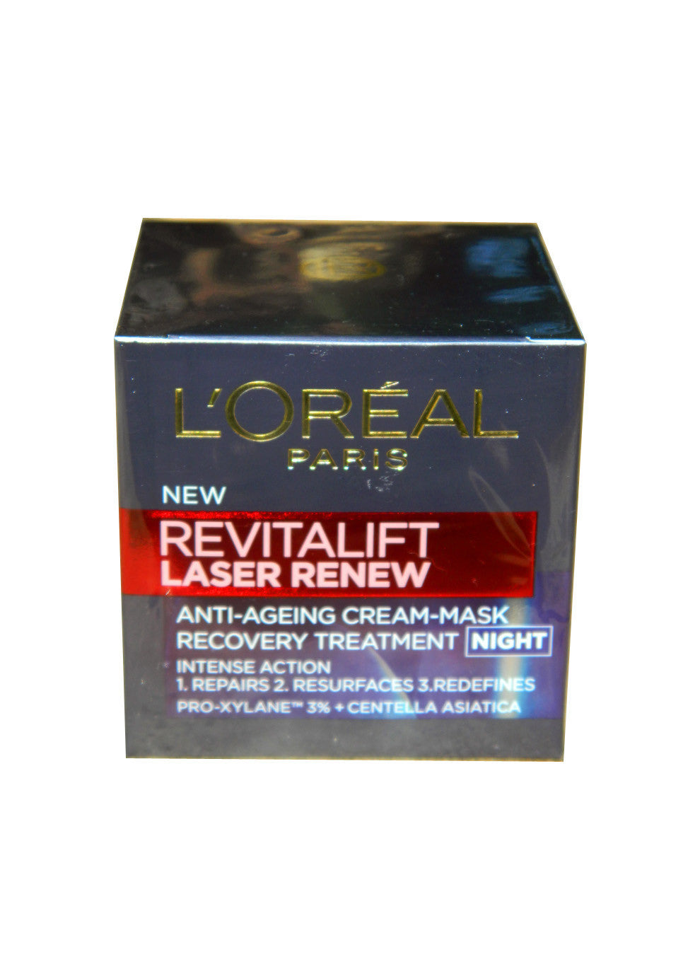 L'Oreal Revitalift Laser Renew Anti-Ageing Cream-Mask Recovery Treatment Night 50ml