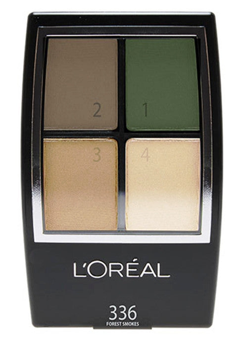 L'Oreal Studio Secrets Color Smokes Eyeshadow   #336 Forest Smokes for green eyes
